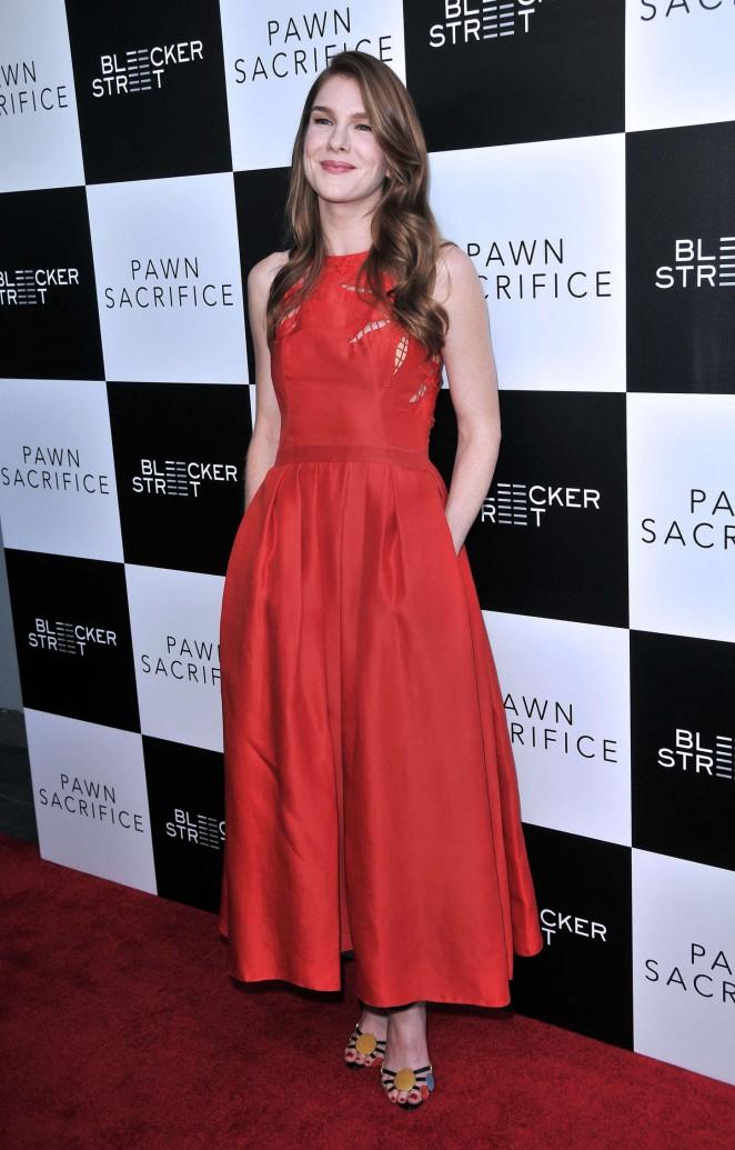 Lily Rabe: Pawn Sacrifice LA Premiere -20