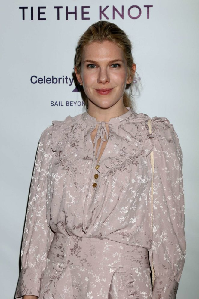 Lily Rabe - Tie The Knot Party in Los Angeles