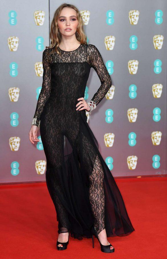 Lily Rose Depp - 2020 British Academy Film Awards in London