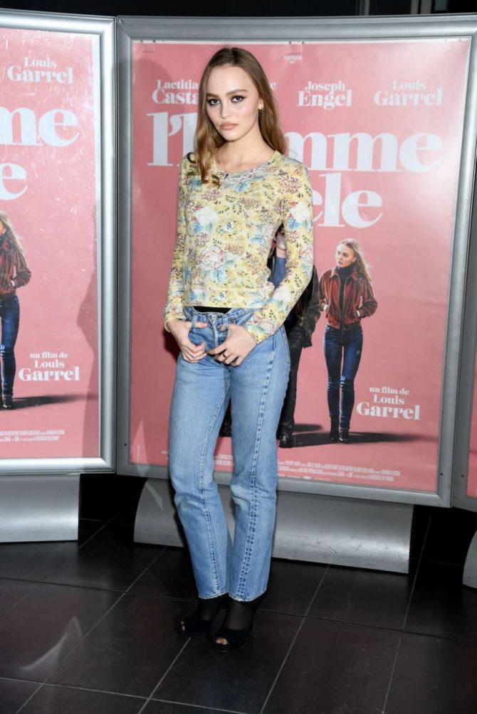 Lily Rose Depp - 'A Faithful Man' Premiere in Paris