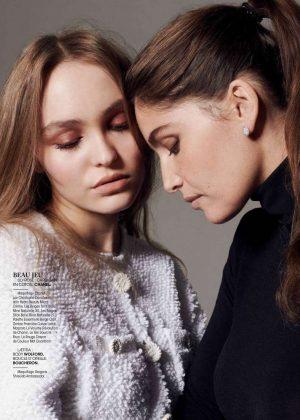 Lily Rose Depp and Laetitia Casta - Madame Figaro Magazine (December 2018)