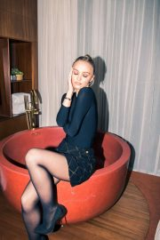 Lily Rose Depp by Jake Rosenberg Photoshoot for Coveteur (December 2019)