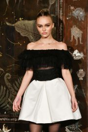 Lily-Rose Depp - Chanel Metiers D'Art Fashion Show in Paris