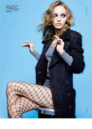 Lily Rose Depp - Elle France Magazine (November 2016)