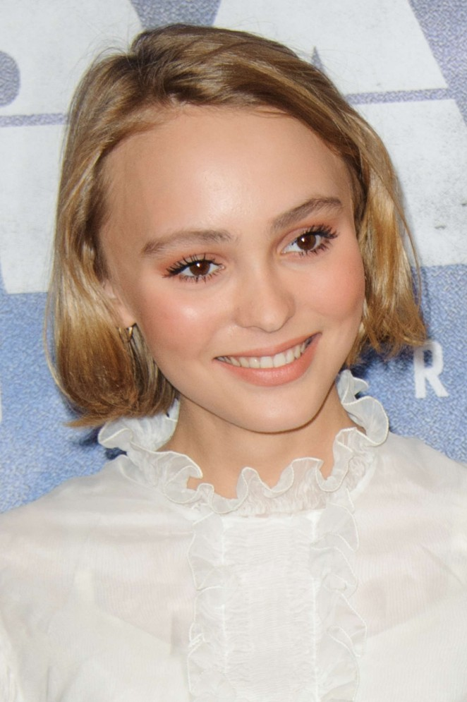 Lily Rose Depp - 'Enrages' Premiere in Paris