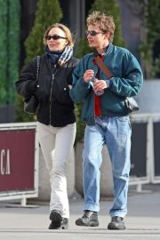 Lily Rose Depp - Heading out with a friend in New York