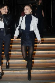 Lily Rose Depp - Leaving the Corinthia Hotel in London