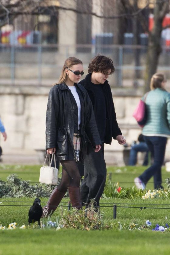 Lily Rose Depp: Out in Paris -01