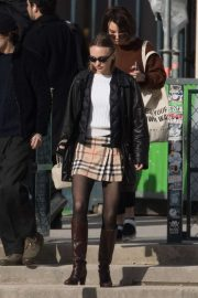 Lily Rose Depp - Out in Paris