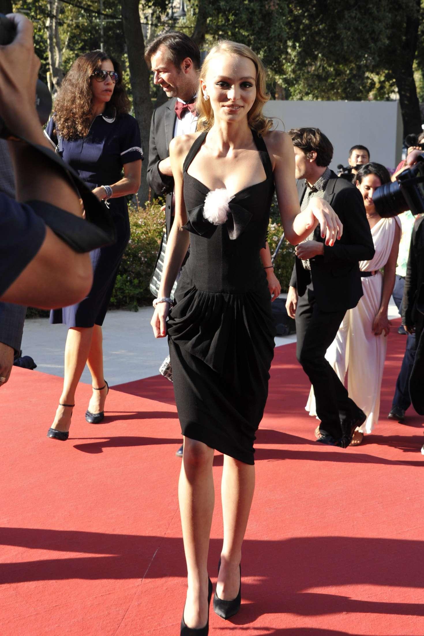 2f5654c3208b Lily Rose Depp  Planetarium Premiere at 73rd Venice Film Festival ...