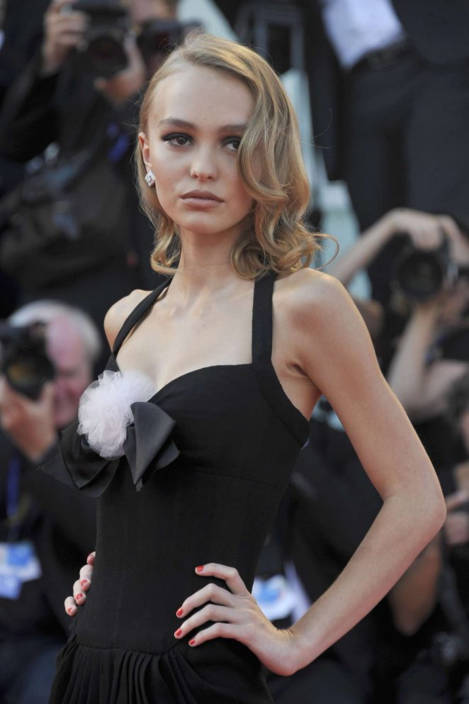 Lily Rose Depp - 'Planetarium' Premiere at 73rd Venice Film Festival in Italy