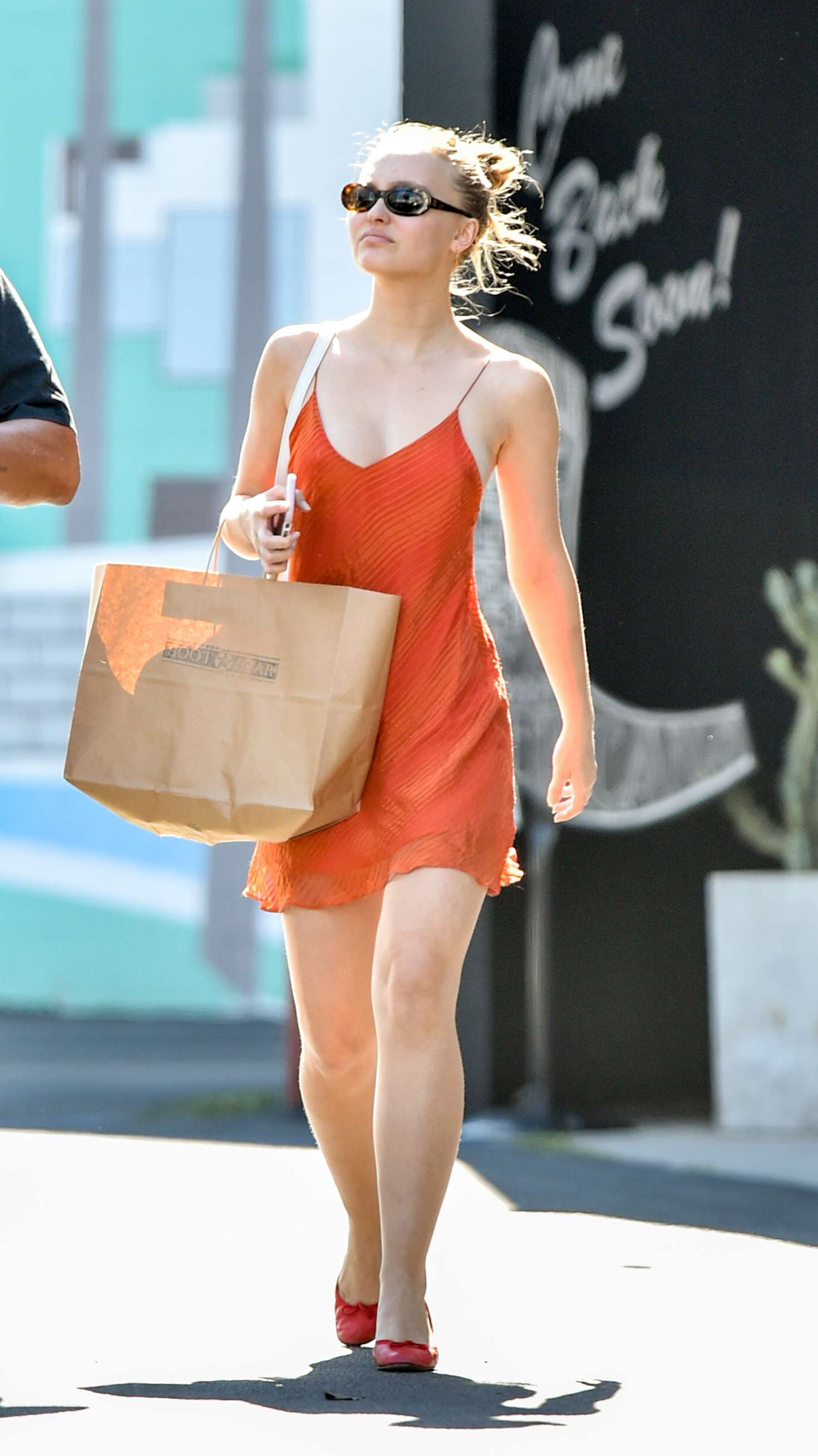 Lily Rose Depp – Shopping At Boot Star In West Hollywood