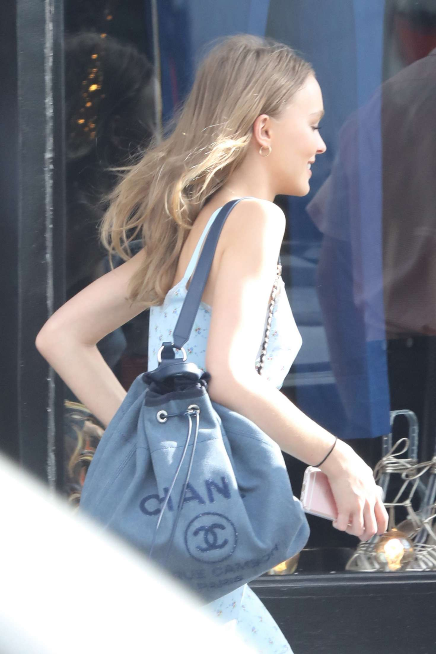Lily Rose Depp: Shopping at Golden Age -04 | GotCeleb