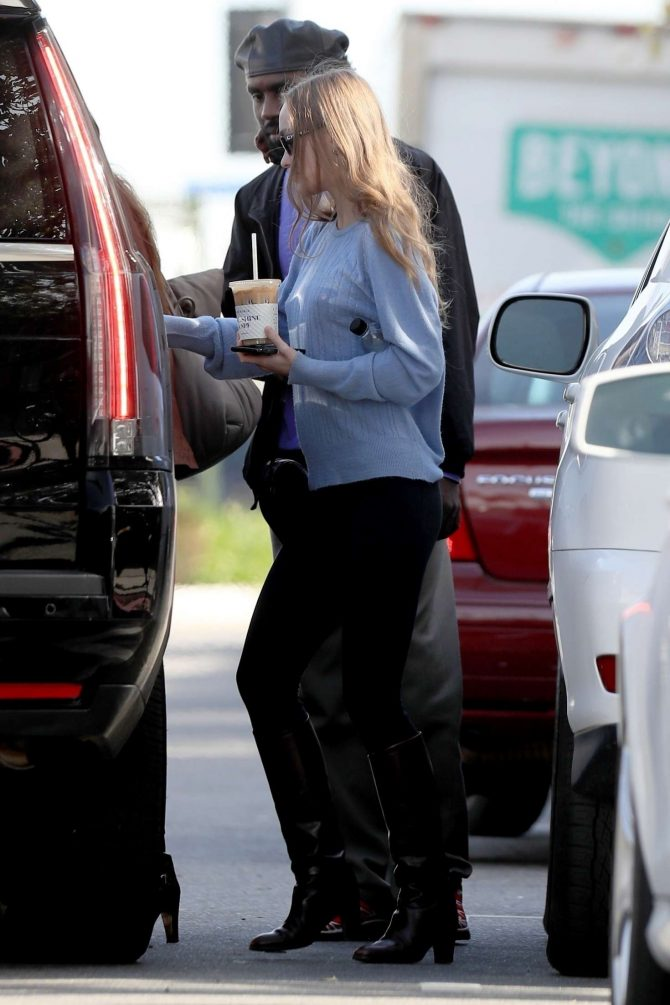 Lily Rose Depp: Shopping in West Hollywood -05