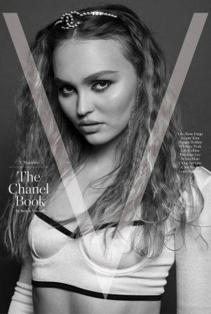 Lily-Rose Depp - V Magazine The Chanel Book 2021
