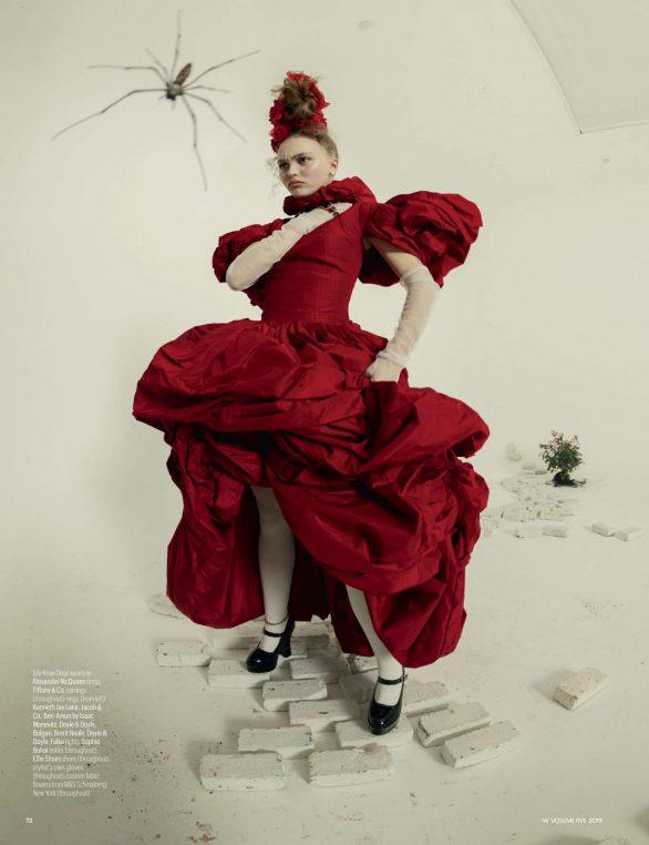 Lily-Rose Depp - W Magazine (September 2019)