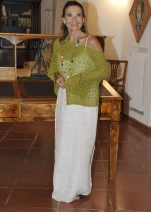 Lina Sastri - Gala Dinner Vila Costa at Ischia Global Festival in Italy