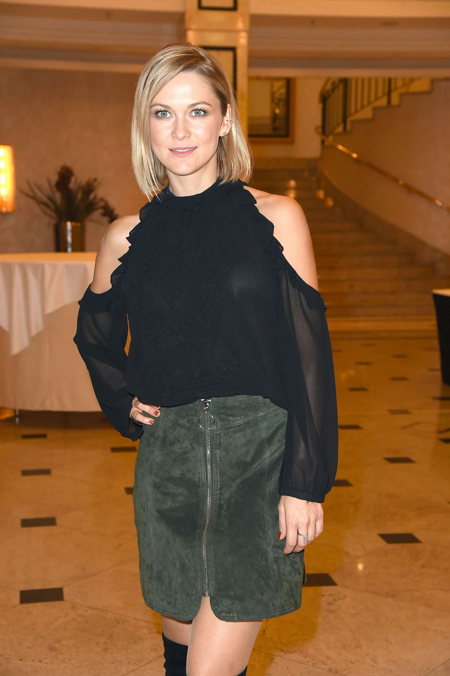 Linda Hesse - ZDF Live TV Show Willkommen bei Carmen