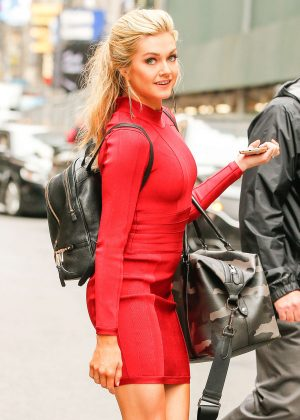 Lindsay Arnold at Good Morning America in New York
