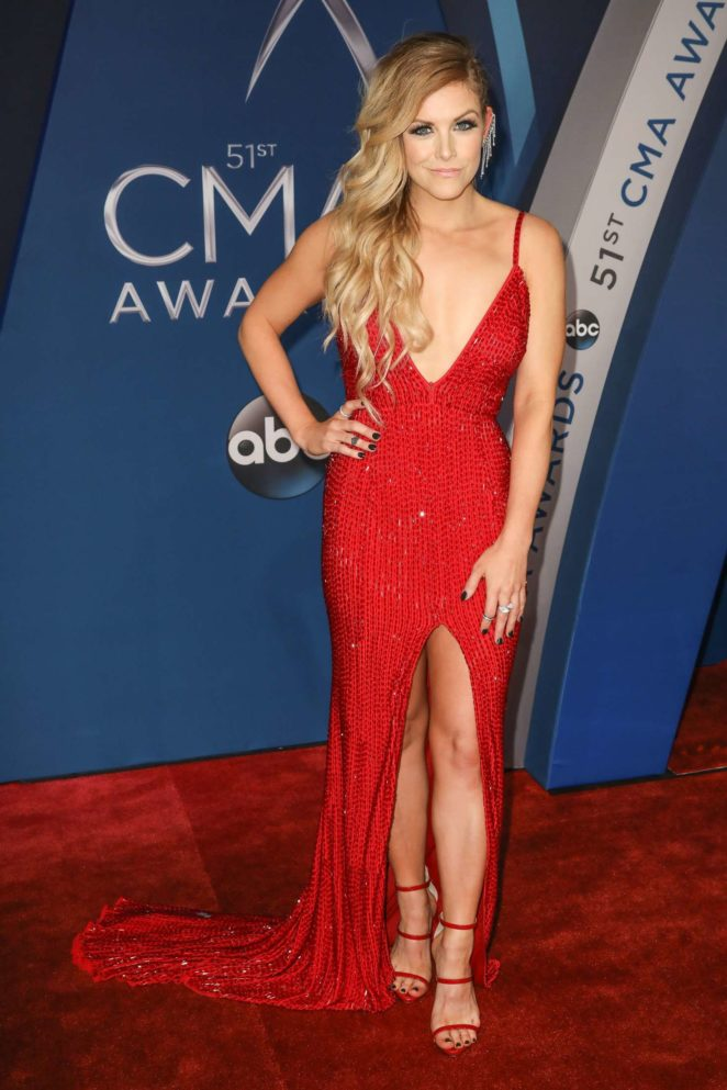 Lindsay Ell: 51st Annual CMA Awards in Nashville -01