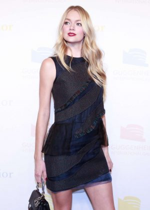 Lindsay Ellingson - 2016 Guggenheim International Gala Dior Party in NYC