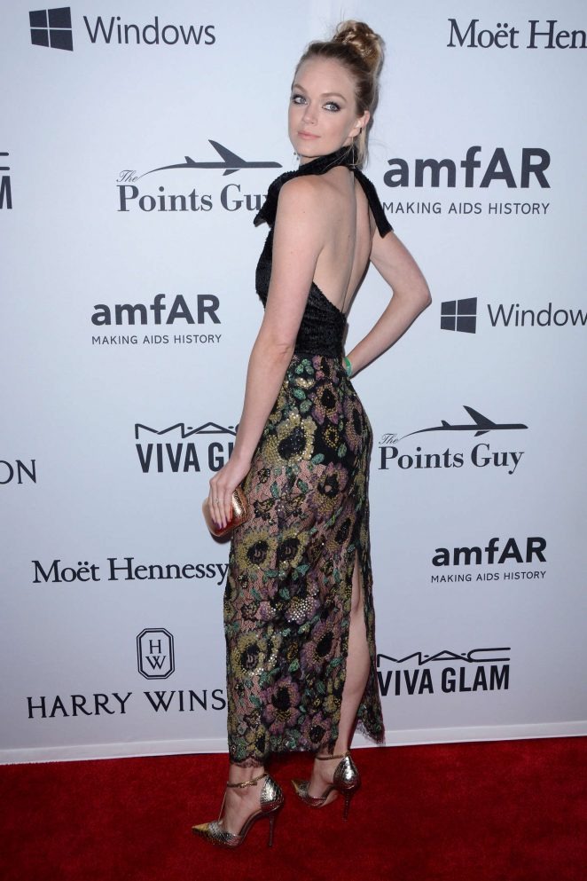Lindsay Ellingson - 7th Annual amfAR Inspiration Gala in New York