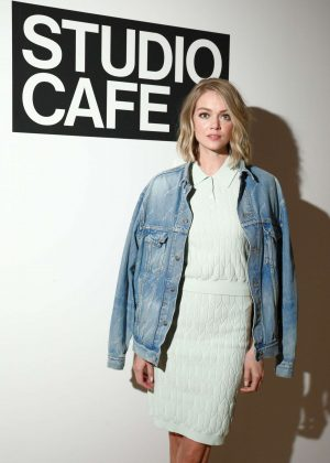 Lindsay Ellingson - CFDA Vogue Fashion Fund Design Challenge in NY
