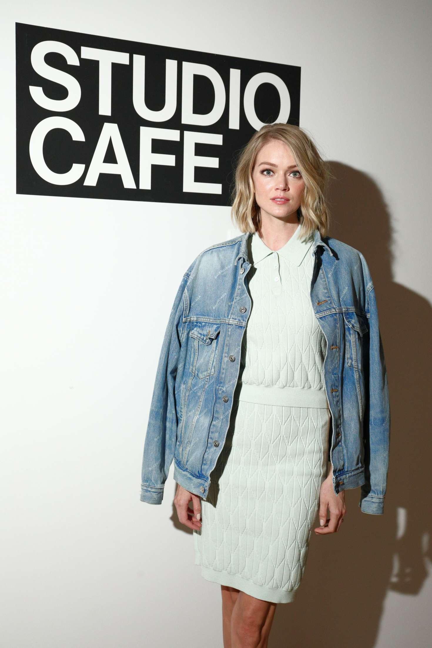 Lindsay Ellingson – CFDA Vogue Fashion Fund Design Challenge in NY ...