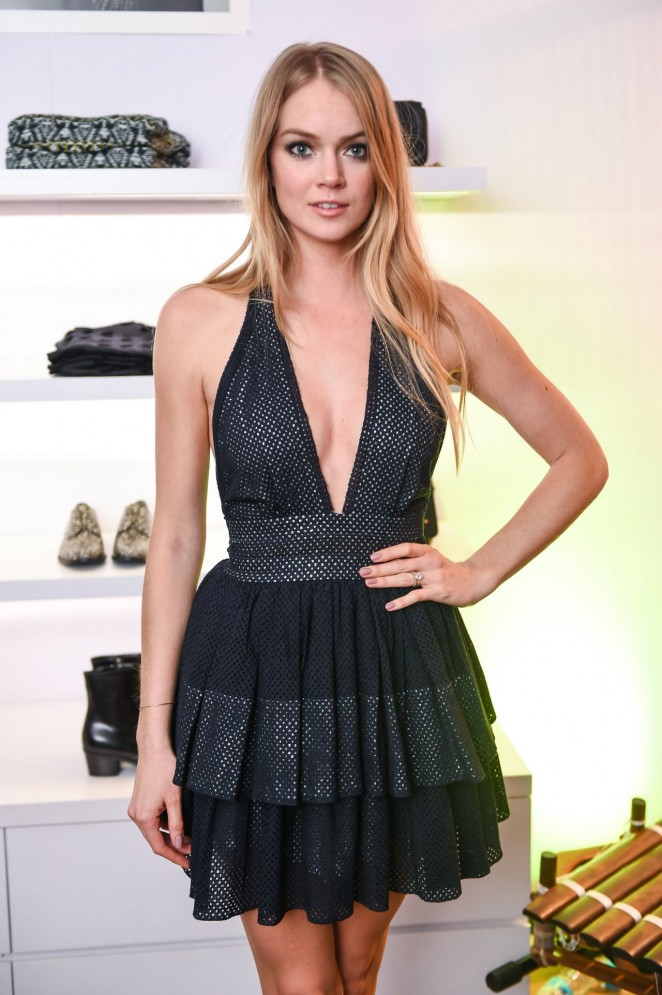 Lindsay Ellingson – Jenke Ahmed Tailly and Sophie Theallet and CO. Fantsy Night in NYC