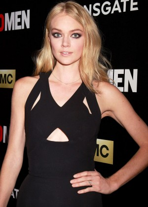 Lindsay Ellingson - 'Mad Men' Friends and Family Screening in NYC