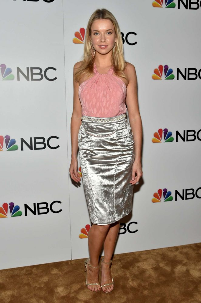 Lindsay Ellingson - NBC and The Cinema Society Party for The Cast of NBC's 2018-2019 Season in NY