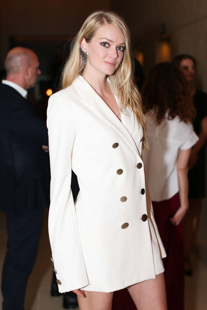 Lindsay Ellingson - Premiere of The New York Edition & Launch of W Art in NY