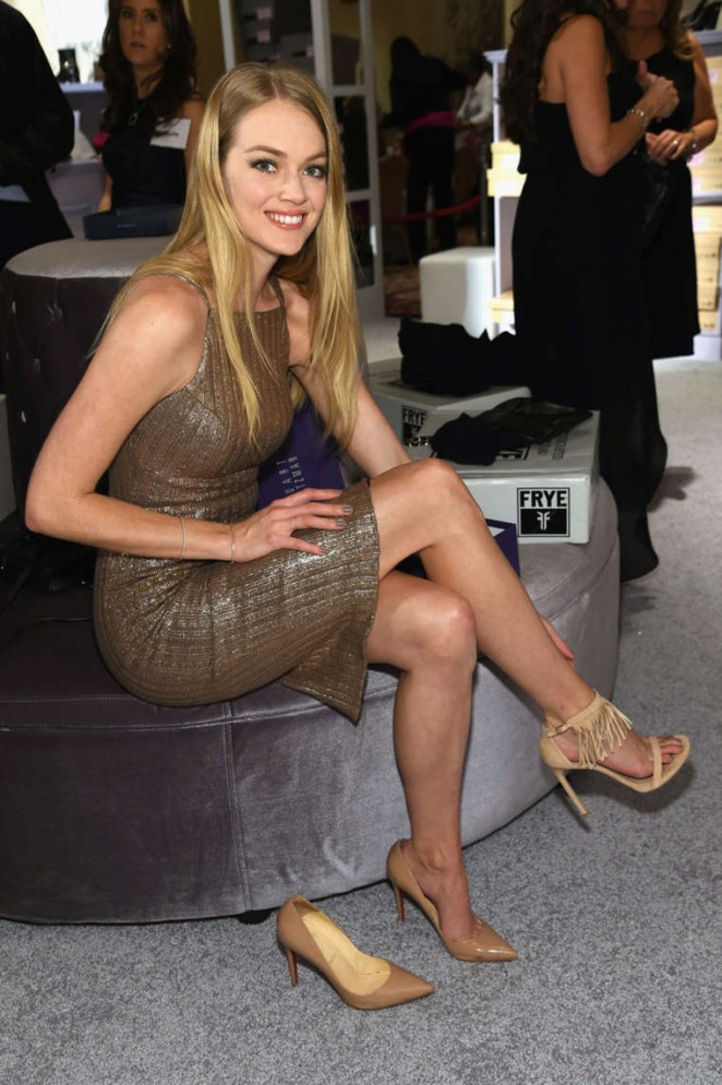 Lindsay Ellingson - QVC Presents 'FFANY Shoes on Sale' in New York City