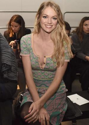 Lindsay Ellingson - Sophie Theallet Fashion Show 2015 in NYC