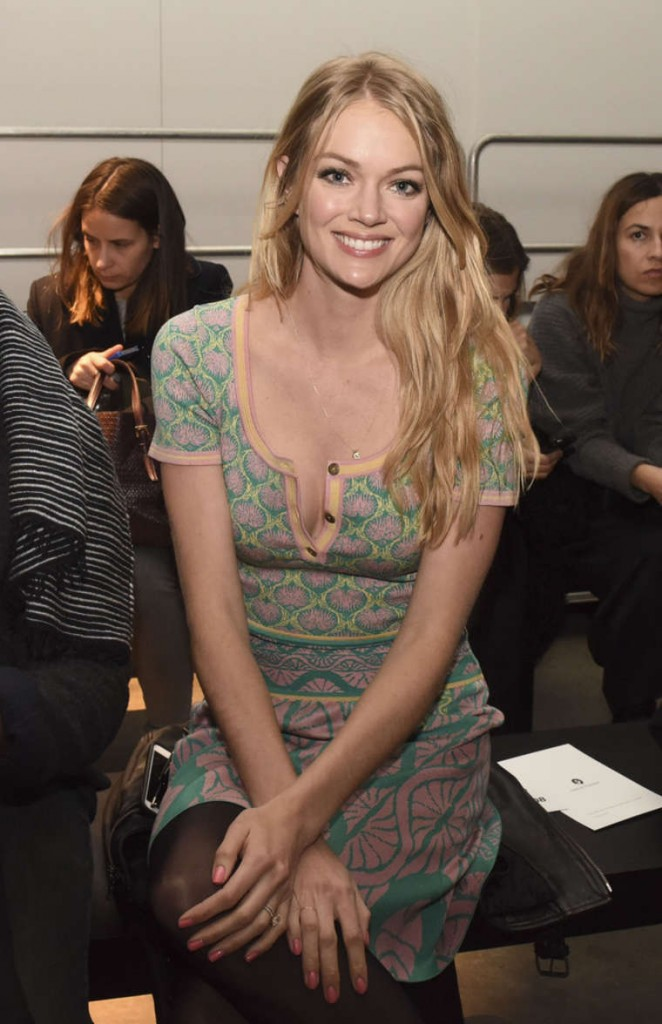 Lindsay Ellingson – Sophie Theallet Fashion Show in NYC