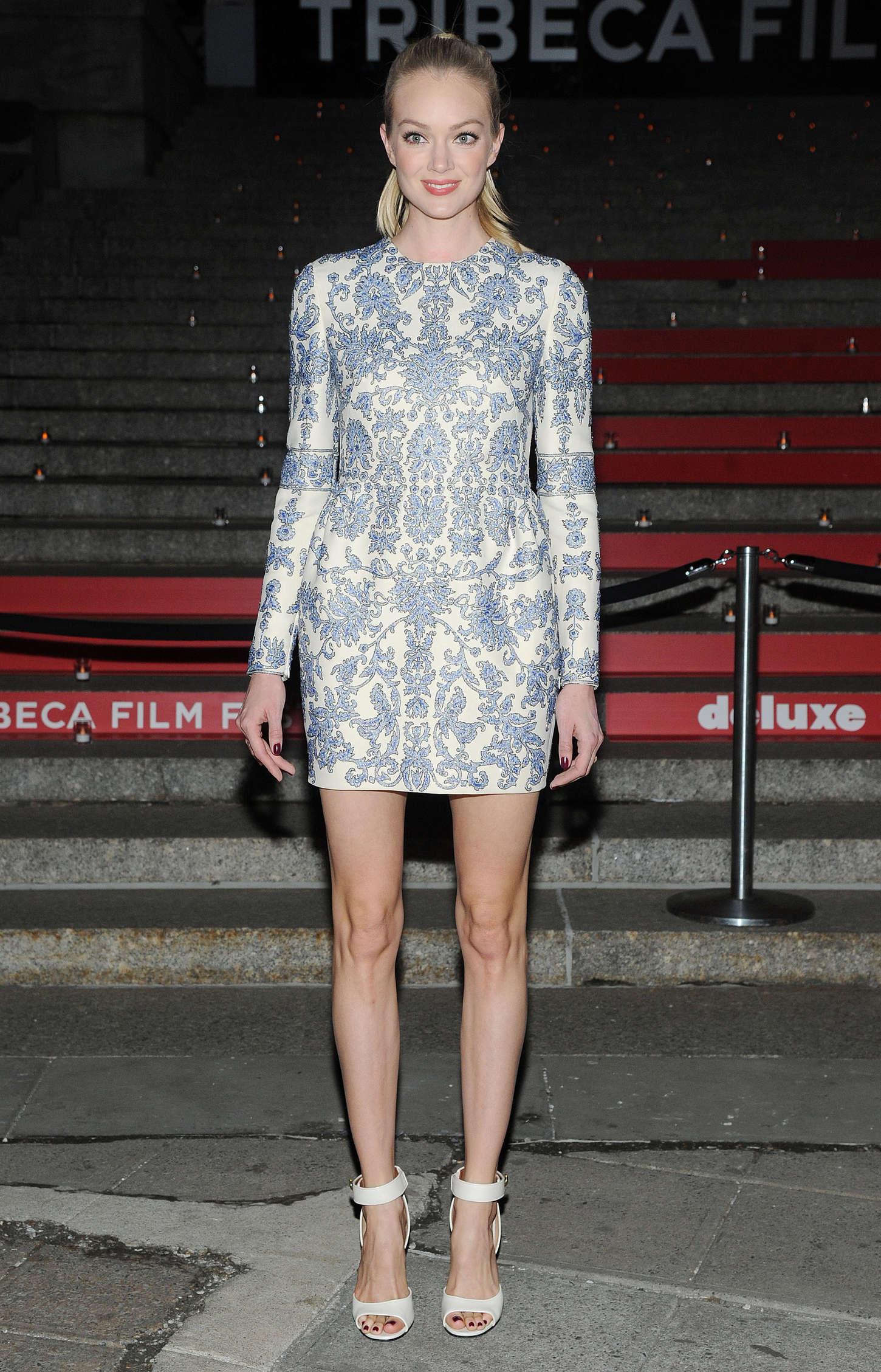 Lindsay Ellingson 2015 : Lindsay Ellingson: Vanity Fair Party 2015 Tribeca Film Festival -01