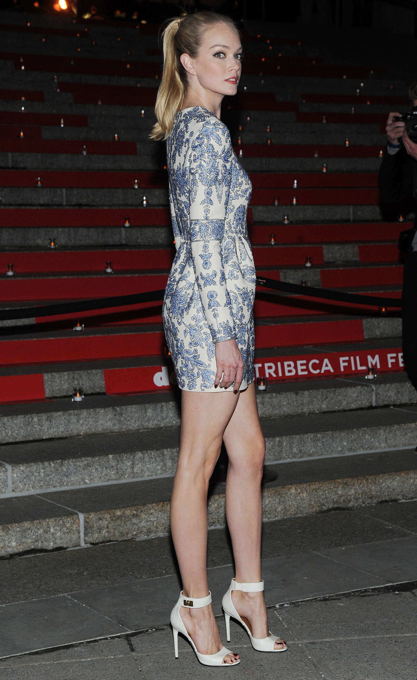 Lindsay Ellingson 2015 : Lindsay Ellingson: Vanity Fair Party 2015 Tribeca Film Festival -02