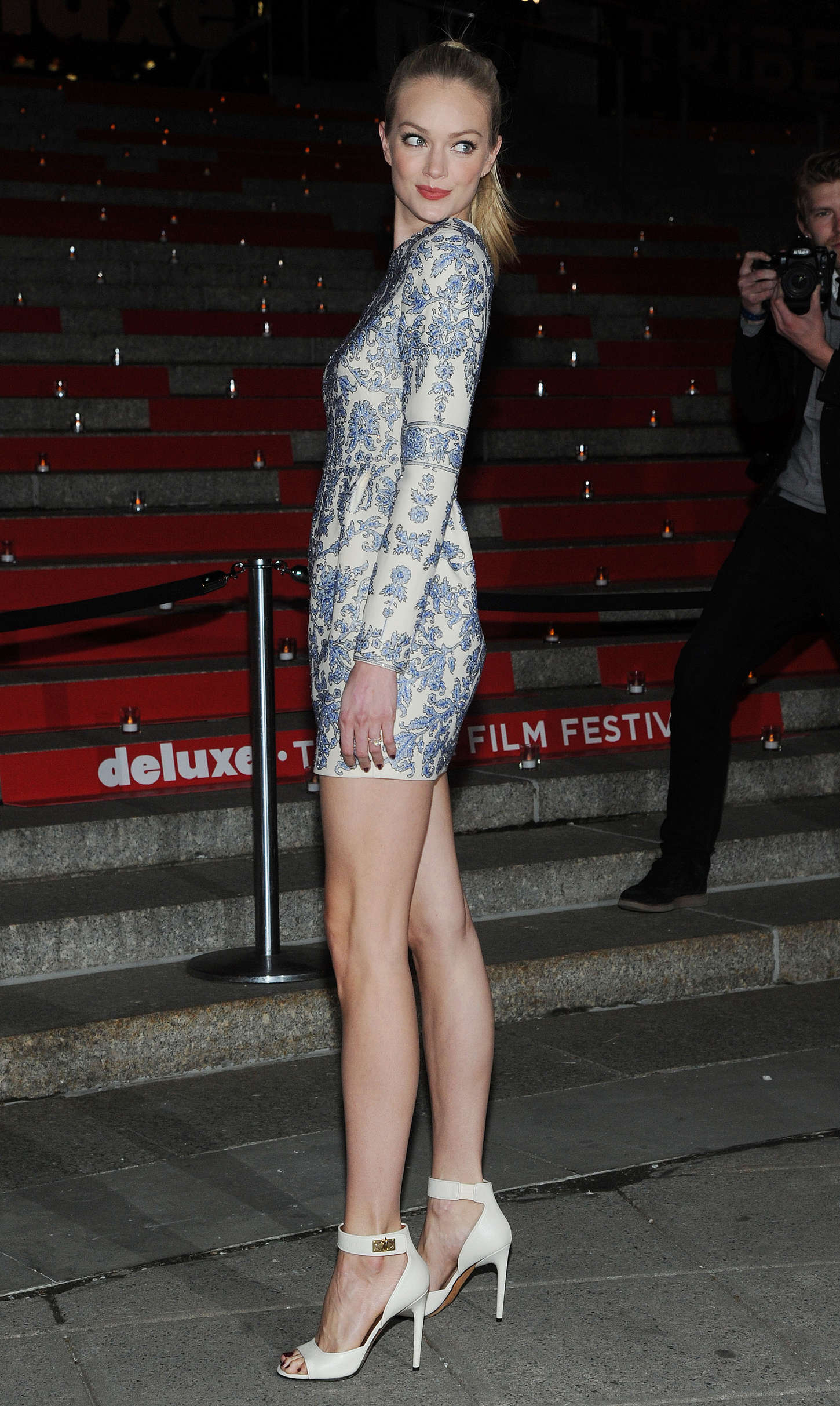 Lindsay Ellingson 2015 : Lindsay Ellingson: Vanity Fair Party 2015 Tribeca Film Festival -04