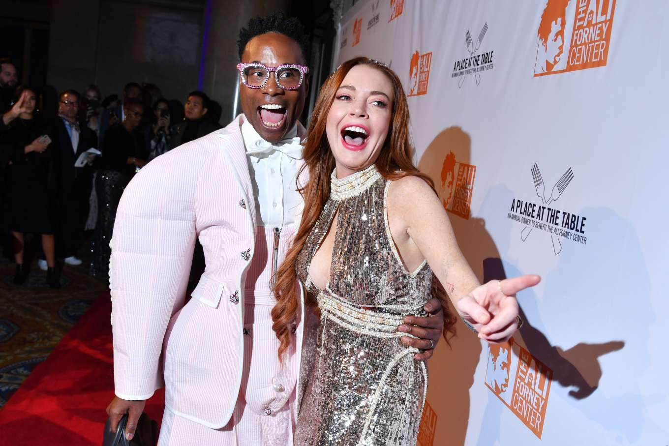 Lindsay Lohan 2019 : Lindsay Lohan – A Place at the Table: The Ali Forney Centers Annual Fall Gala-02