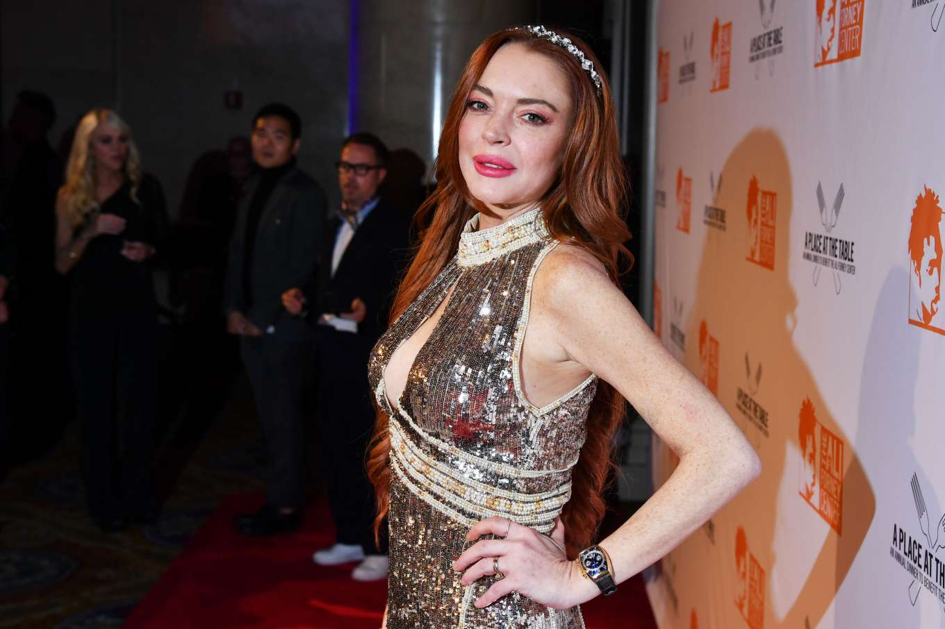 Lindsay Lohan 2019 : Lindsay Lohan – A Place at the Table: The Ali Forney Centers Annual Fall Gala-03