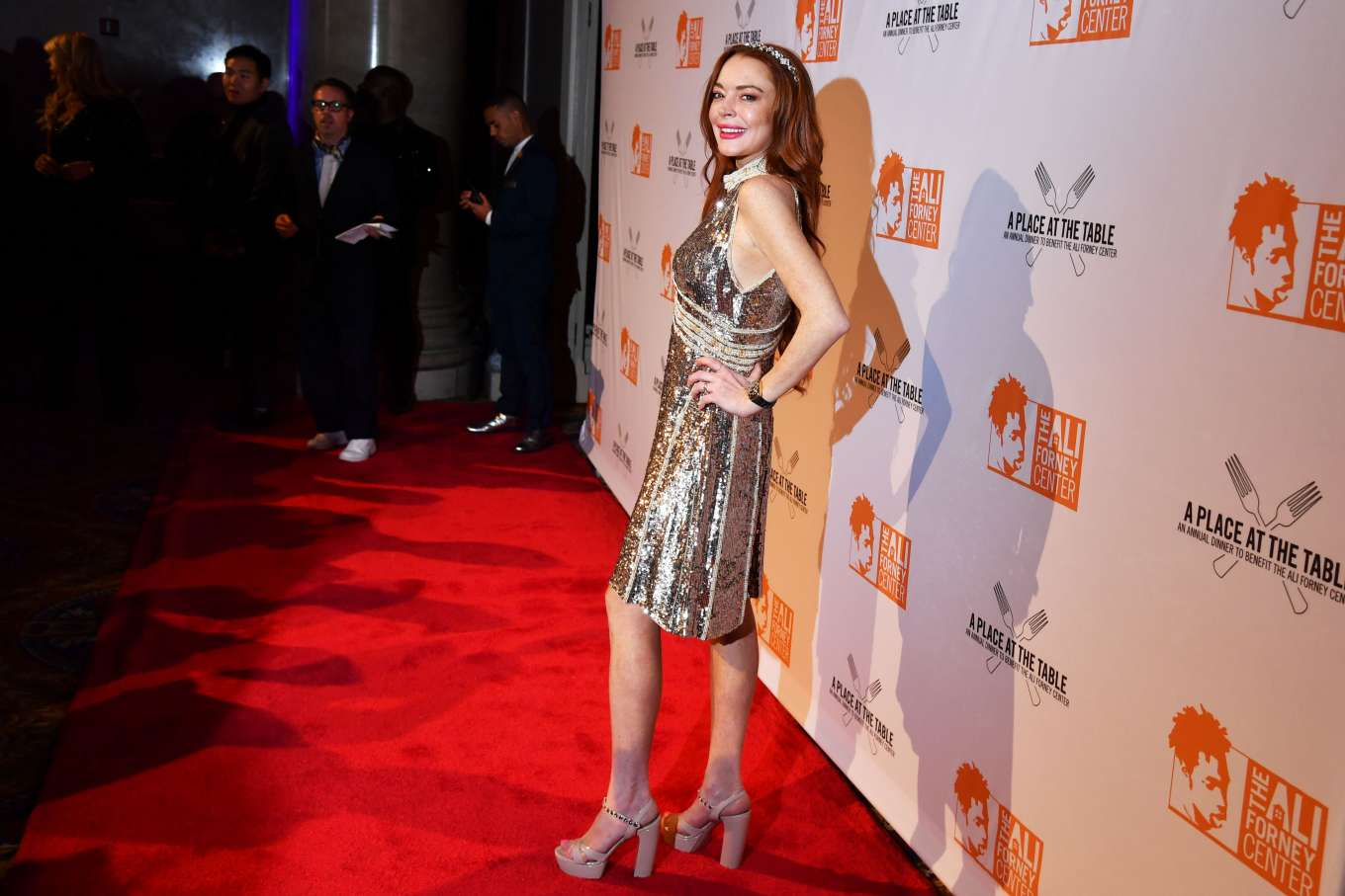 Lindsay Lohan 2019 : Lindsay Lohan – A Place at the Table: The Ali Forney Centers Annual Fall Gala-06