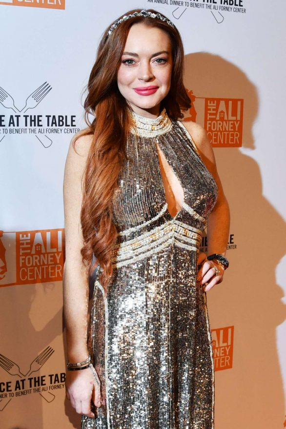 Lindsay Lohan - A Place at the Table: The Ali Forney Center's Annual Fall Gala in NY