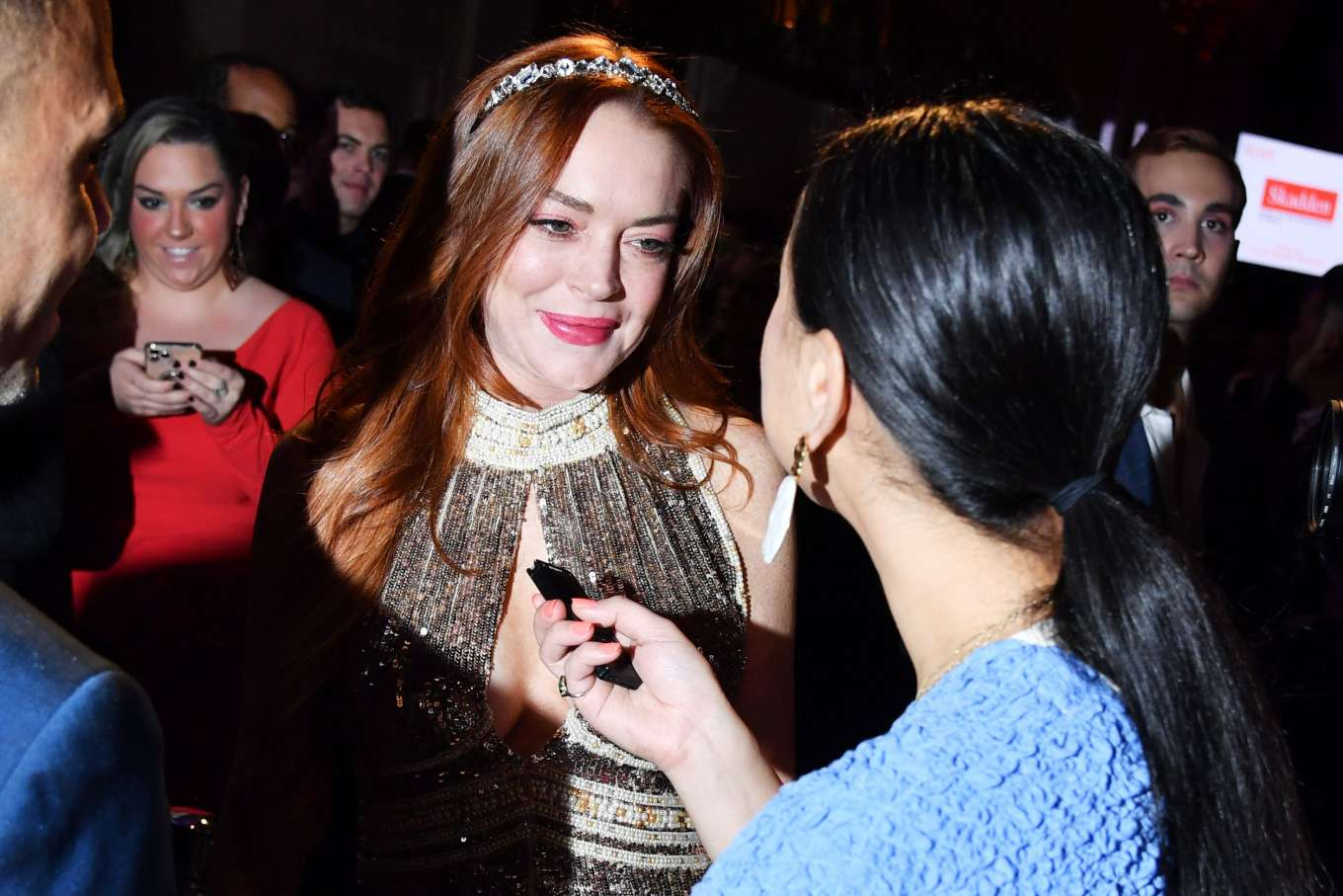 Lindsay Lohan 2019 : Lindsay Lohan – A Place at the Table: The Ali Forney Centers Annual Fall Gala-09