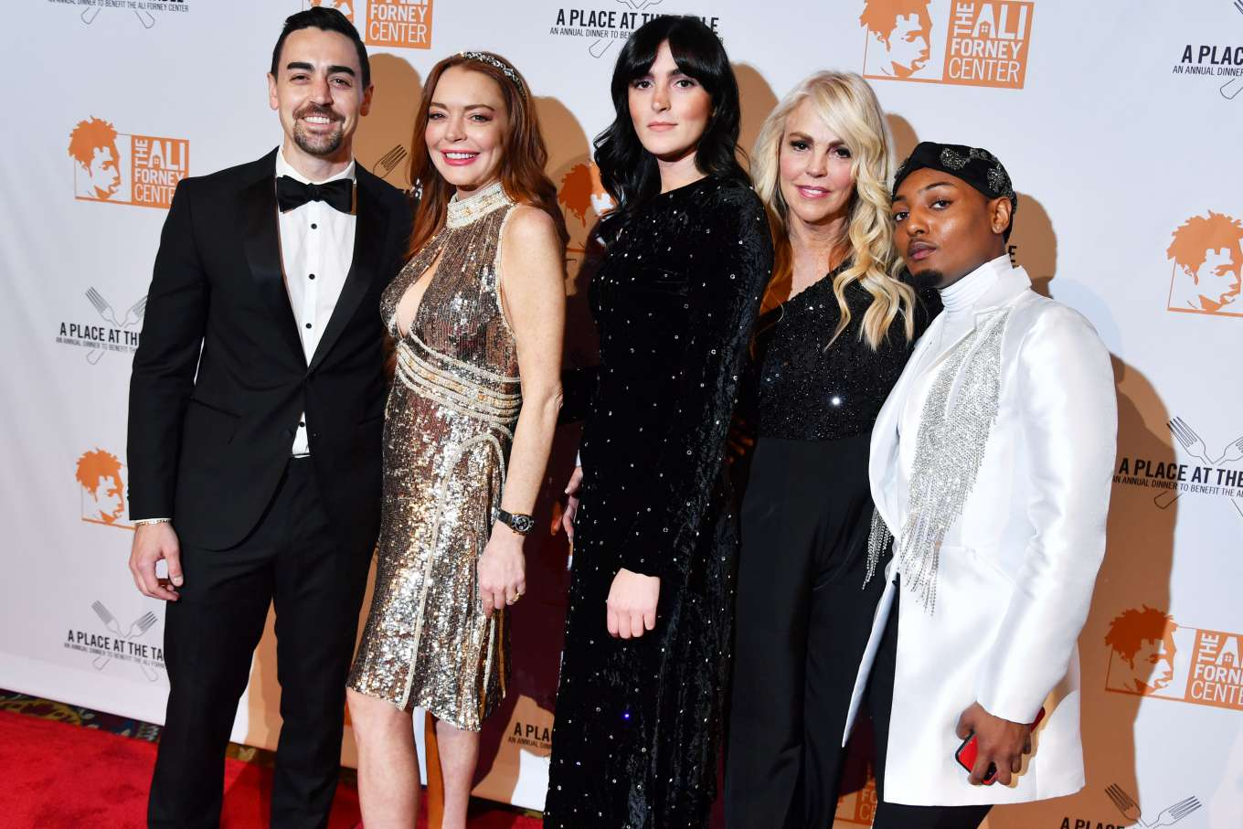 Lindsay Lohan 2019 : Lindsay Lohan – A Place at the Table: The Ali Forney Centers Annual Fall Gala-10