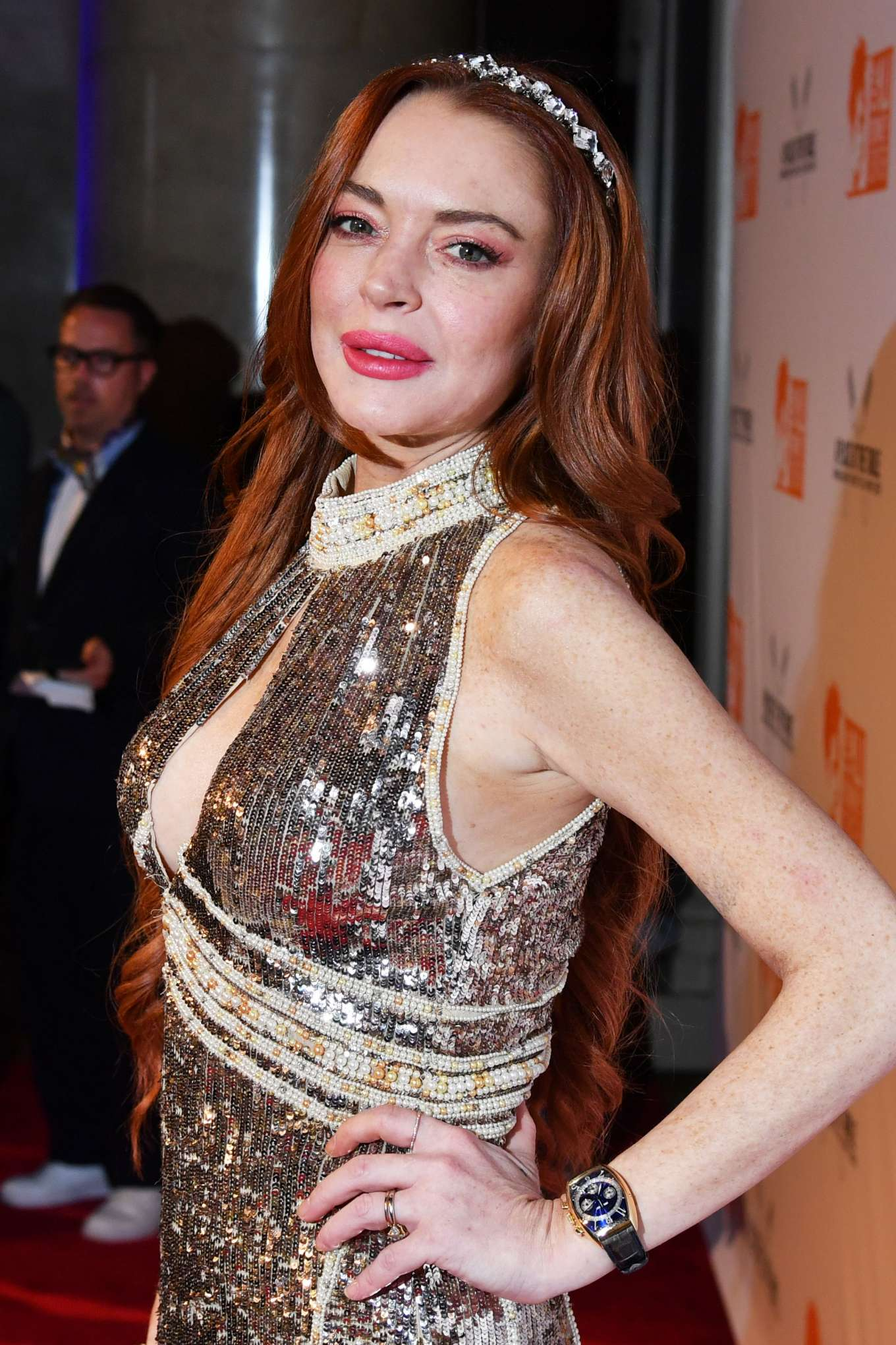 Lindsay Lohan 2019 : Lindsay Lohan – A Place at the Table: The Ali Forney Centers Annual Fall Gala-13