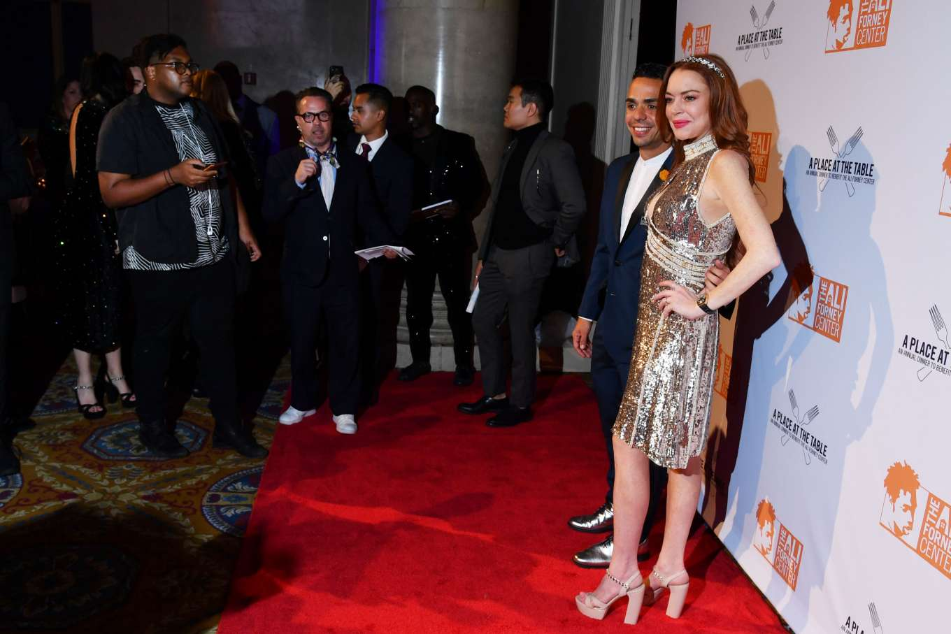 Lindsay Lohan 2019 : Lindsay Lohan – A Place at the Table: The Ali Forney Centers Annual Fall Gala-16