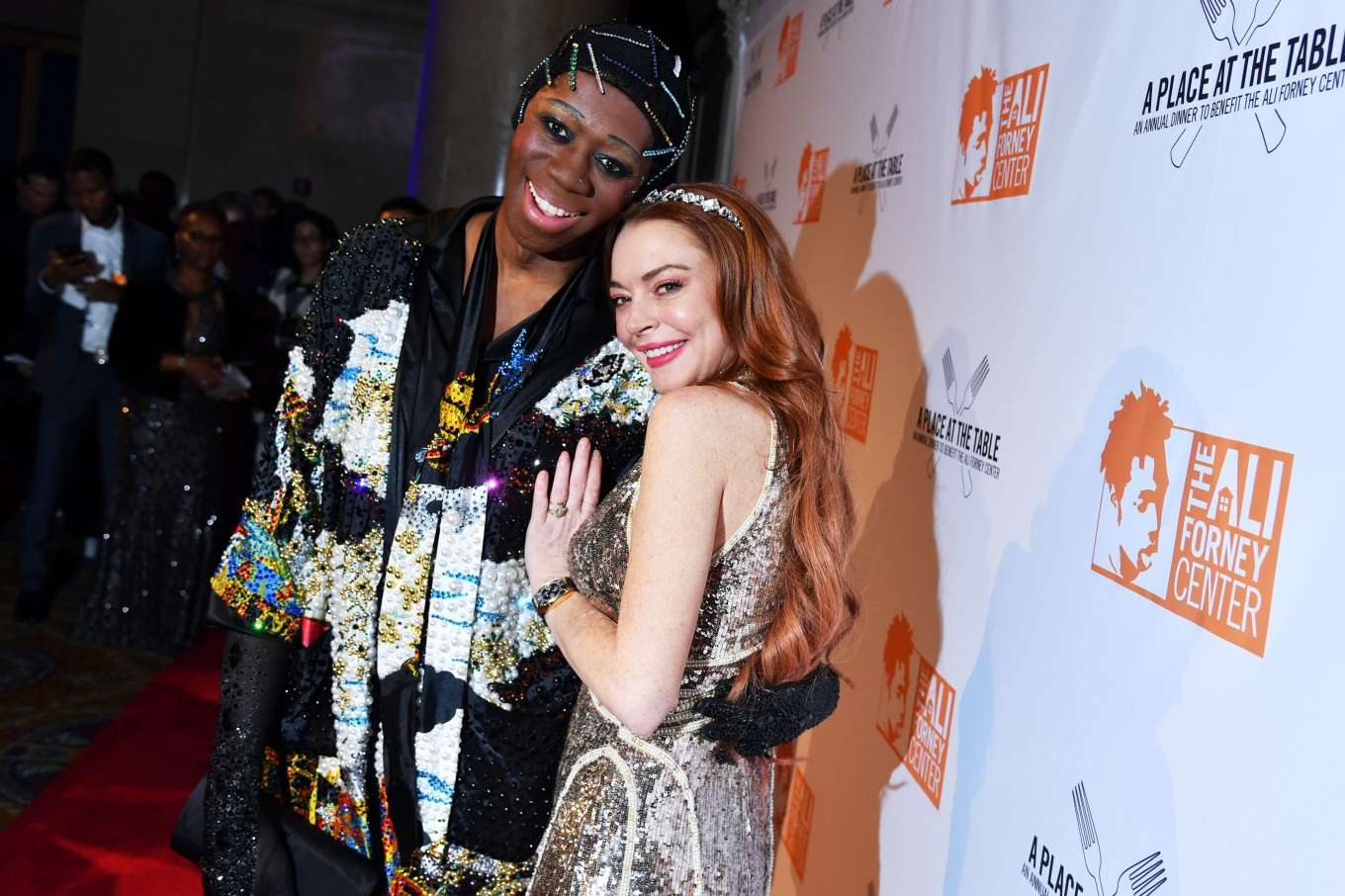 Lindsay Lohan 2019 : Lindsay Lohan – A Place at the Table: The Ali Forney Centers Annual Fall Gala-17