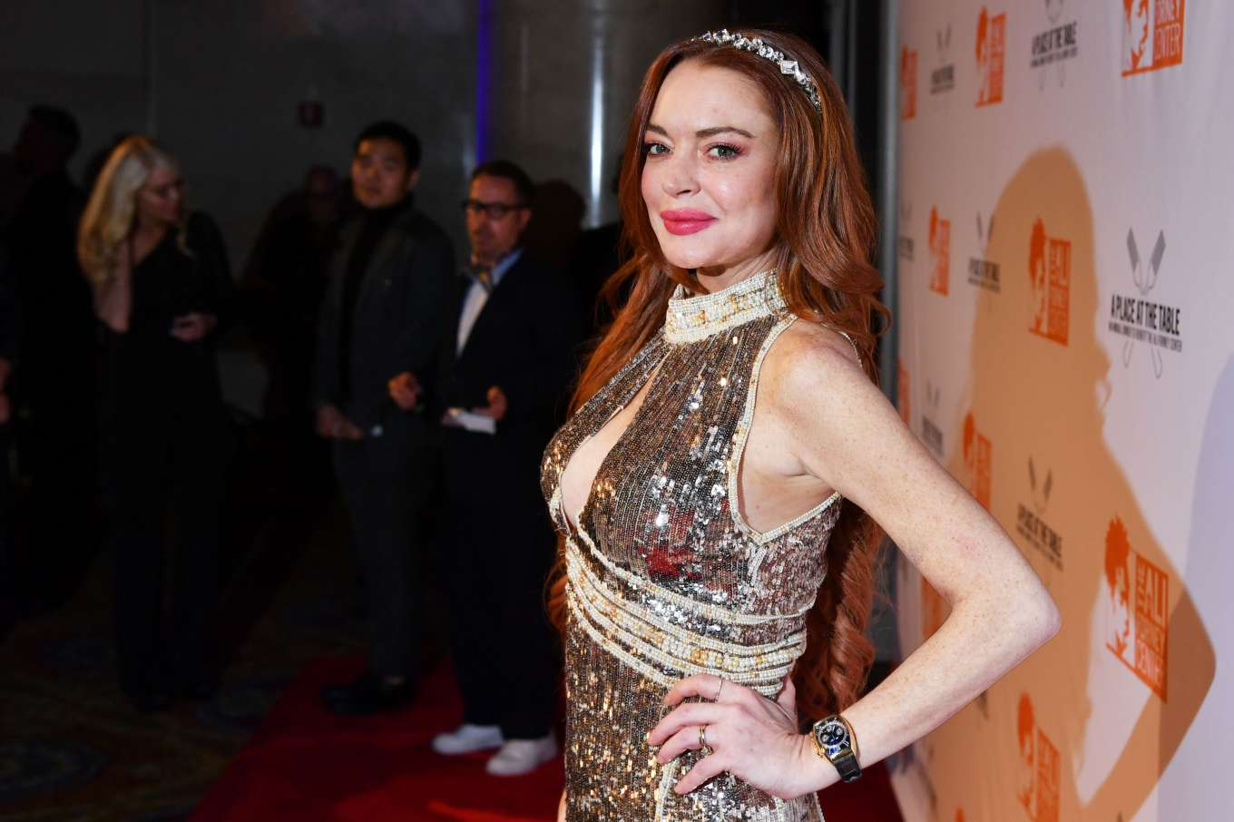 Lindsay Lohan 2019 : Lindsay Lohan – A Place at the Table: The Ali Forney Centers Annual Fall Gala-19