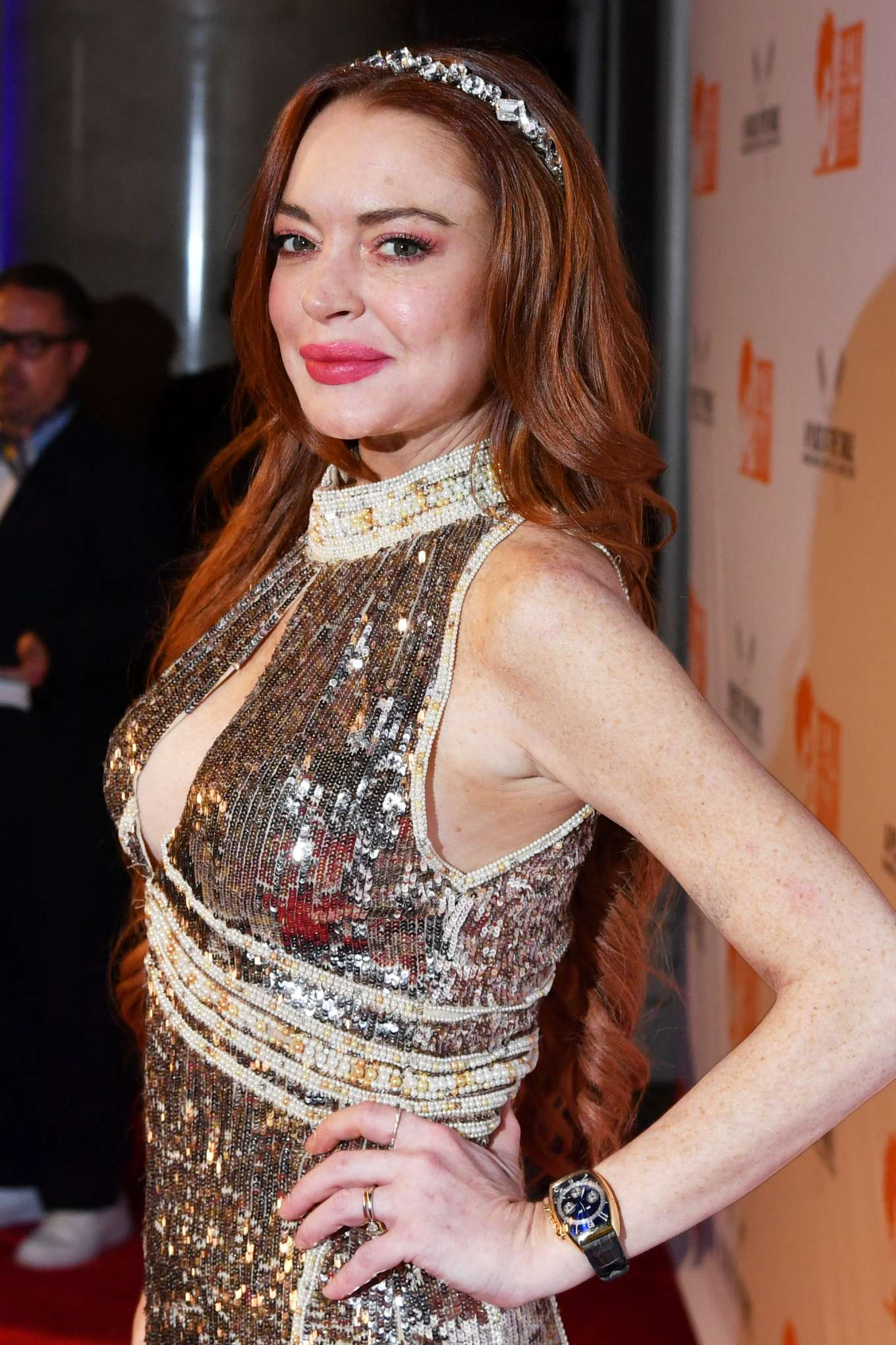 Lindsay Lohan 2019 : Lindsay Lohan – A Place at the Table: The Ali Forney Centers Annual Fall Gala-21