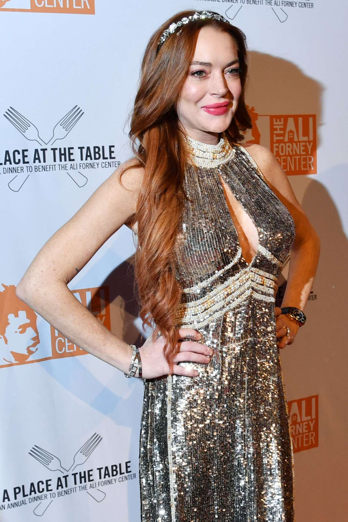 Lindsay Lohan 2019 : Lindsay Lohan – A Place at the Table: The Ali Forney Centers Annual Fall Gala-22